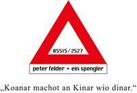 Logo Spenglerei Felder Schoppernau